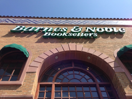Look! A bookstore! A brick and motar bookstore (in which I bought a Sonic Screwdriver and a talking Dalek!)