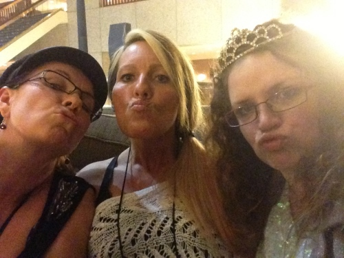 Duck faces! (I love Michelle Boone, in case you're wondering)