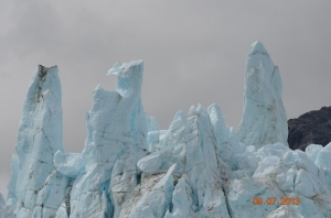 close up of glacier