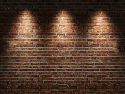 Wall-With-Lights